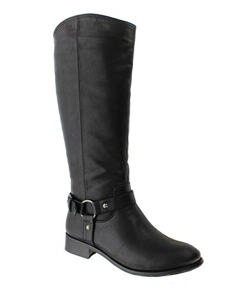 Black Emerson 4 Boot
