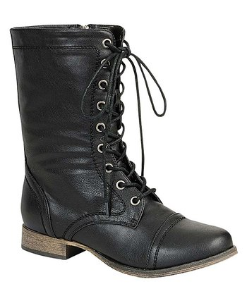 Black Georgia Boot