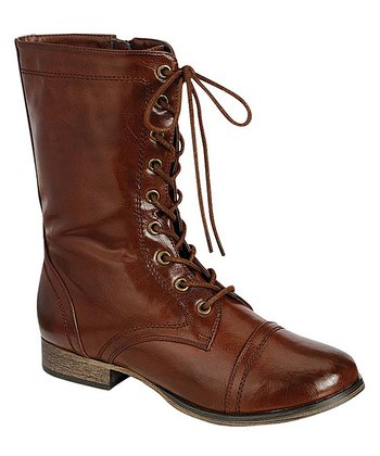 Cognac Georgia Boot