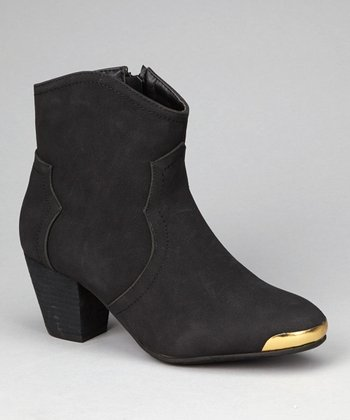 Black Eleri Ankle Boot