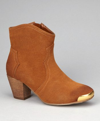 Tan Eleri Ankle Boot