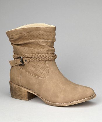 Taupe Pike Ankle Boot