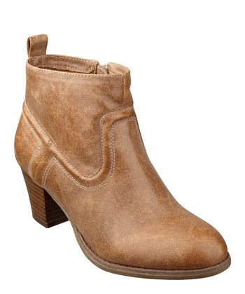 Natural Duster Ankle Boot