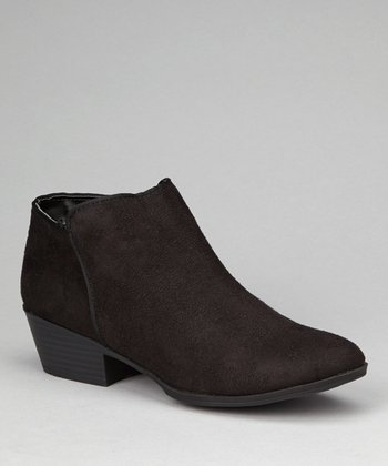Black Emma Ankle Boot
