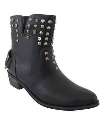 Black Janne Ankle Boot