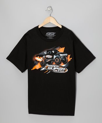 Black Launch Tee - Kids