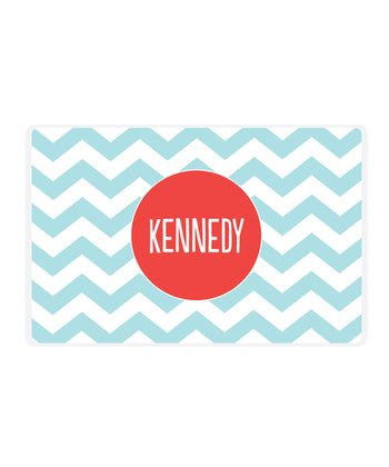 Pool Zigzag Personalized Place Mat