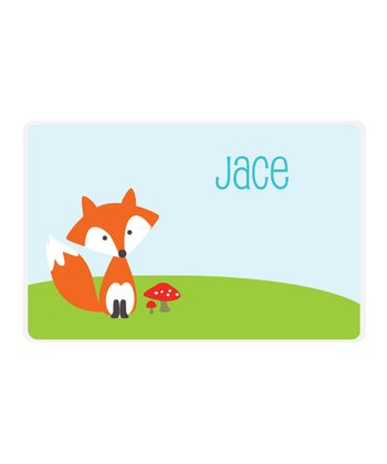 Fox Personalized Place Mat