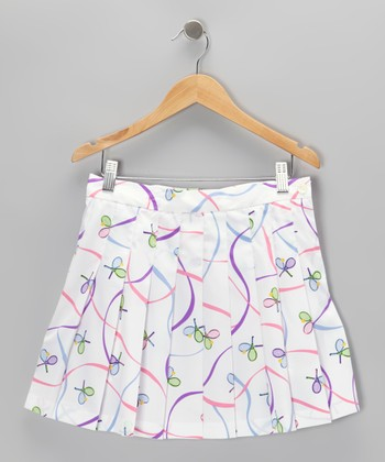 Pastels Pleated Skort - Girls