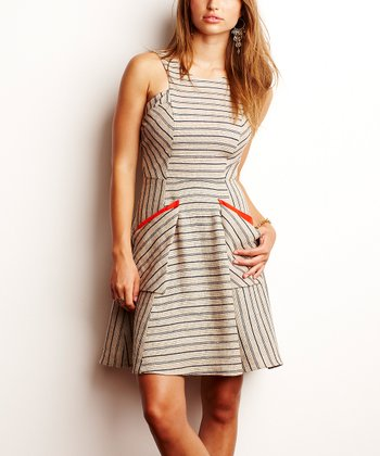 Hempstripe Tori Pocket Dress