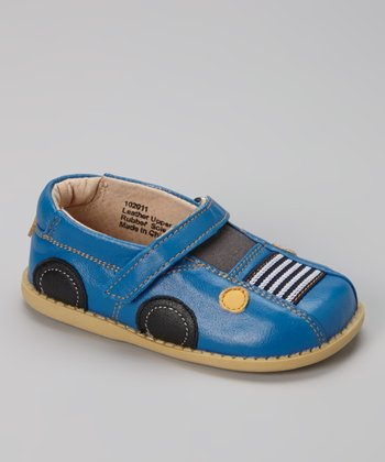 Bright Blue Auto Shoe