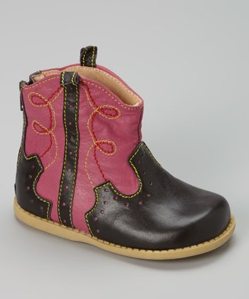 Fuchsia Buck Boot