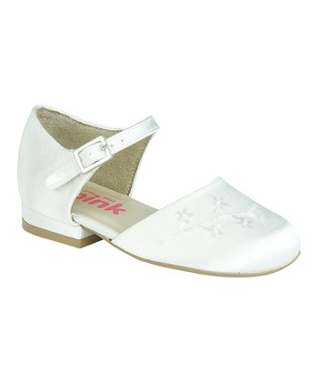 White Sugarplum Dress Shoe
