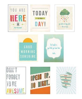 Good Vibes Mini Print Collection Set