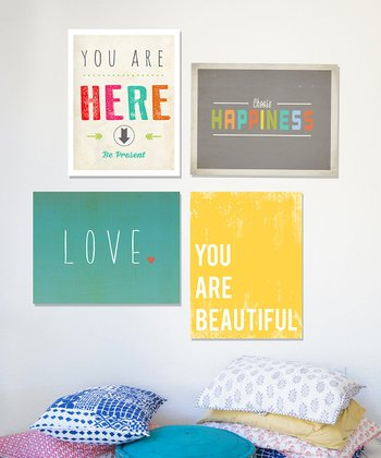 Happiness Print Set
