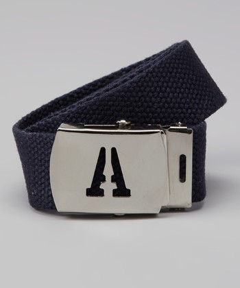 Navy Initial Buckle Belt