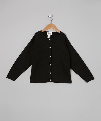 Black Pearl Cardigan - Girls