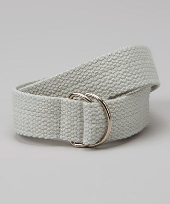 Khaki D-Ring Belt