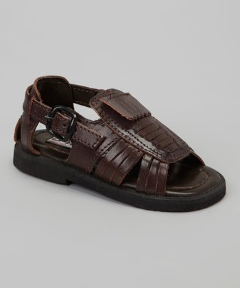 Brown Oxford Sandal