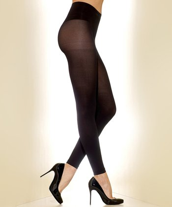 Black Comfort Shaper Leggings - Women & Plus