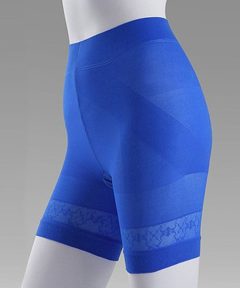 Electric Blue Shaping Shorts - Women