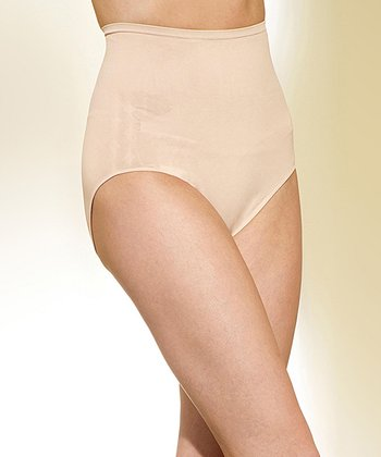 Nude High-Waist Shaping Briefs - Women & Plus