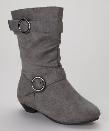 Gray Newport Boot