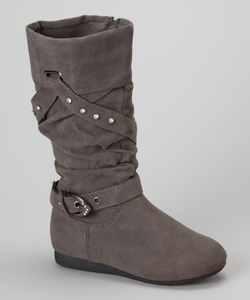 Gray Tracy Boot