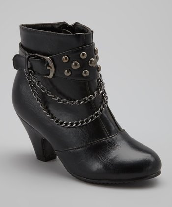 Black Strap Ashley Boot
