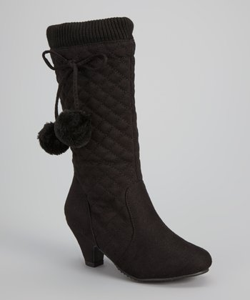 Black Jay Quilted Boot