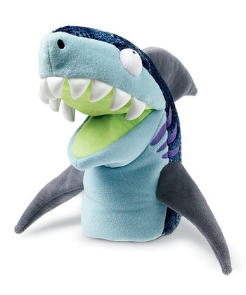 Shawn Shark Chopper Chums Hand Puppet
