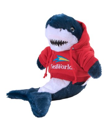Red Hoodie Mako Shark Plush Toy