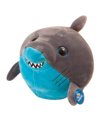 9'' Bubble Zooz Shark Plush Toy