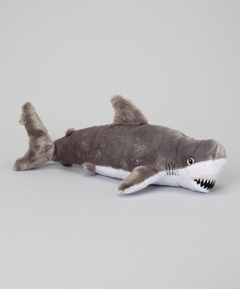 19'' Great White Shark Plush Toy