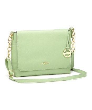 Pistachio Chain Messenger Bag
