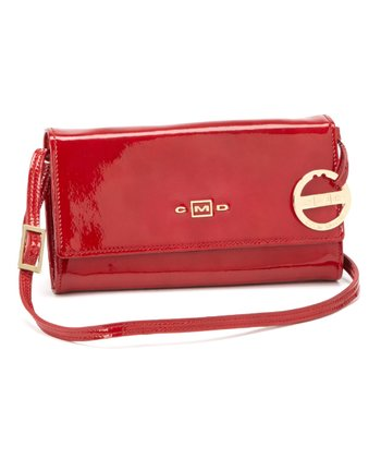 Red Patent Crossbody Bag
