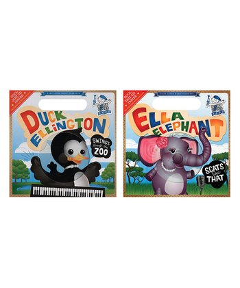 Baby Loves Jazz: Ella Elephant & Duck Ellington Book & CD Set