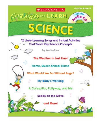 Sing Along and Learn: Science Paperback & CD Set