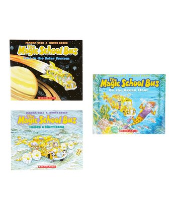 Magic School Bus: Earth & Water Paperback Set