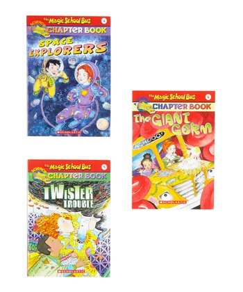 Magic School Bus: World & Body Paperback Set