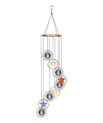 US Air Force Spiral Wind Chime