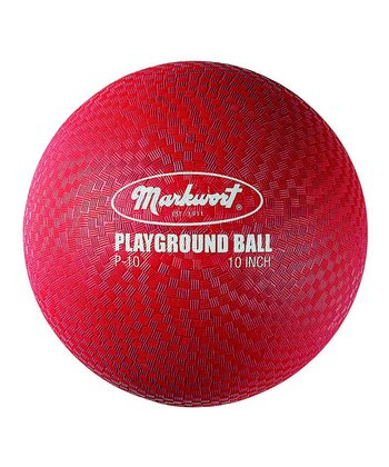 "Red 10"" Playground Ball"