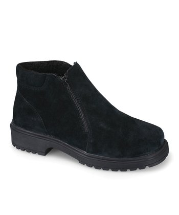 Black Suede Butte Shoe