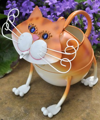 Tabby Cat Watering Can
