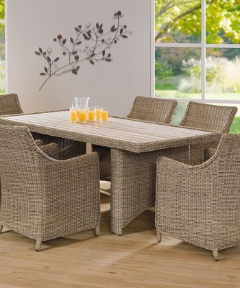 Beaumaris Seven-Piece Outdoor Dining Set