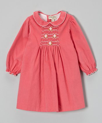 Pink Smocked Swing Dress - Infant & Toddler