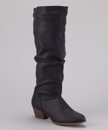 Black Allied Boot