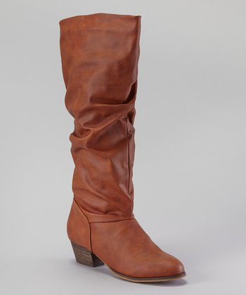 Tan Allied Boot