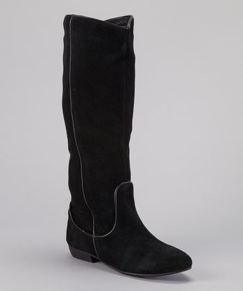 Black Brittany Boot