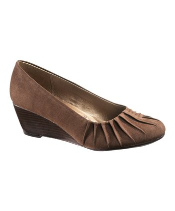 Dark Brown Gaby Pump - Women